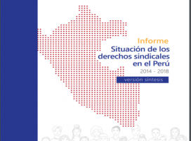 Informe: Situación de los Derechos sindicales en el Perú 2014-2018 (versión síntesis)