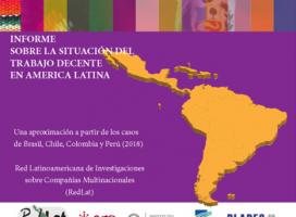 Informe sobre la situación del Trabajo Decente en América Latina
