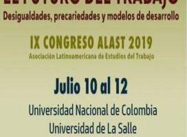PLADES participa en Congreso ALAST   2019 en Bogotá – Colombia