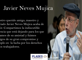 Javier Neves nos ha dejado
