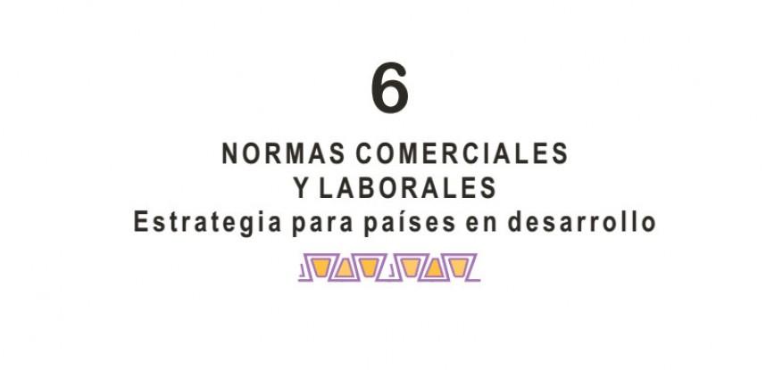 Cuaderno de Integración Andina N° 06 NORMAS COMERCIALES Y LABORALES ESTRATEGIA PARA PAISES EN DESARROLLO.