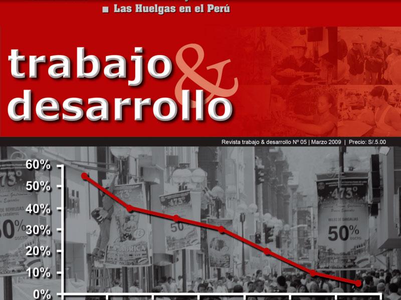 Revista Nº 5 Trabajo & Desarrollo.