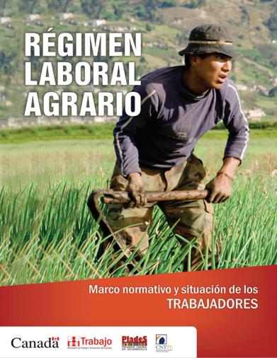 Régimen laboral agrario