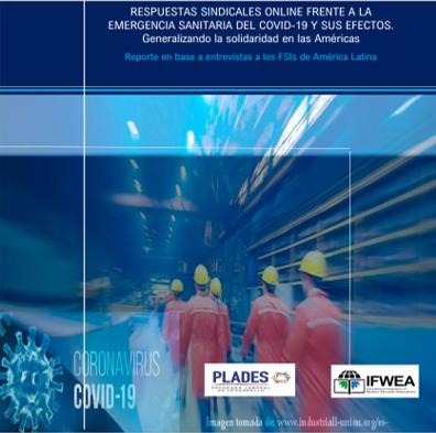 Respuestas sindicales Online de las FSIs de América Latina  ante los efectos del Covid-19